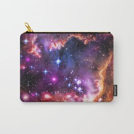 Small Magellanic Cloud's Starry Wingtip Carry-All Pouch
