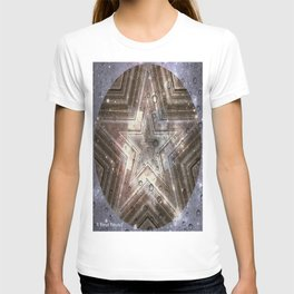 Hollywood Star with water drops T-shirt