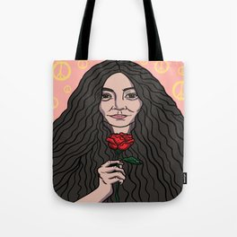 Yoko Ono Tote Bag