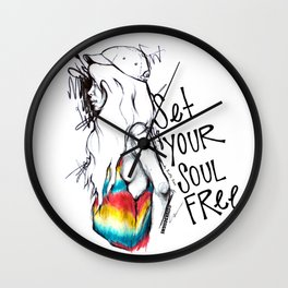 #STUKGIRL Ivie Wall Clock