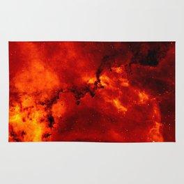 Rosette Nebula Photo Rug