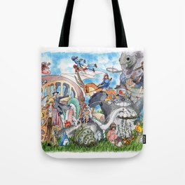 Miyazaki Tribute Tote Bag