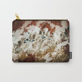 Coffee Stained Parchment Paper Carry-All Pouch