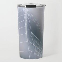 Minimalist architect drawing Travel Mug