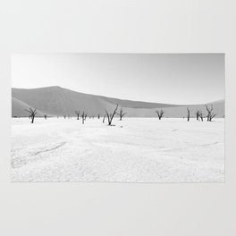 DESERT TREES IN NAMIBIA Rug