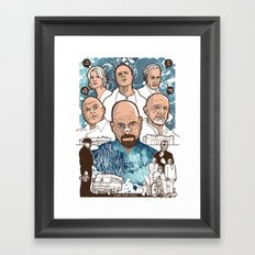 Breaking Bad: The Good, The Bad & The Ugly Framed Art Print