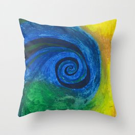 Abstract Poetic Throw Pillow