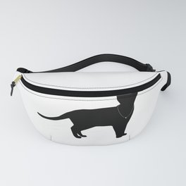 "Funny Bachelorette party graphic with cat - ""Meowied"" Fanny Pack"