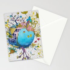the swamp planet Stationery Cards