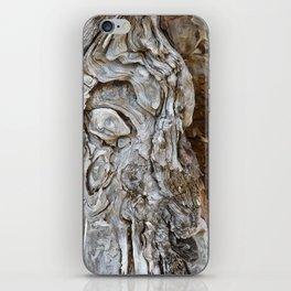 wood skin iPhone Skin