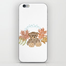 Autumn Bear iPhone Skin
