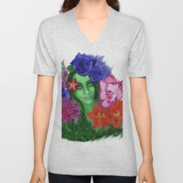 A Bouquet for Her Unisex V-Neck