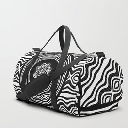 Wavy panels Duffle Bag