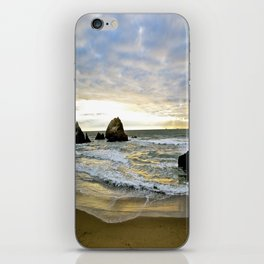 Glowing Beach iPhone Skin
