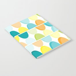 the new colors of summer Notebook