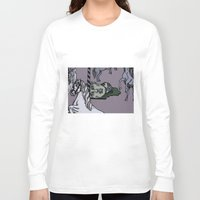 carousel Long Sleeve T-shirts featuring Carousel by Barbora Kmetkova