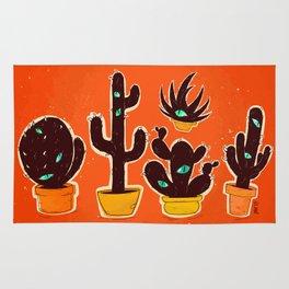 Cat//Cactus Rug