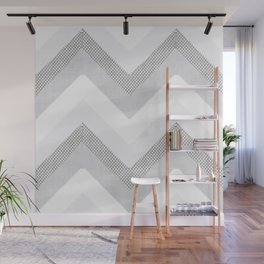 Willow in Grey Wall Mural