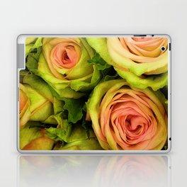 Green & Pink Bouquet Laptop & iPad Skin