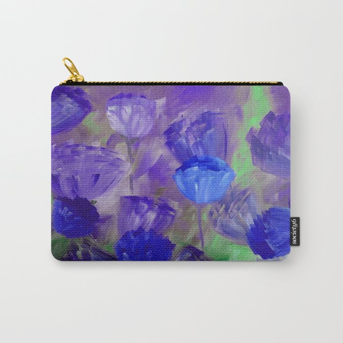 Breaking Dawn in Shades of Deep Blue and Purple Carry-All Pouch