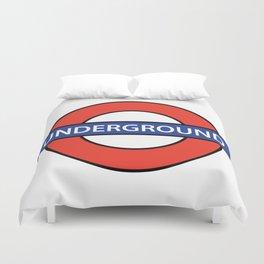 London Underground Duvet Cover