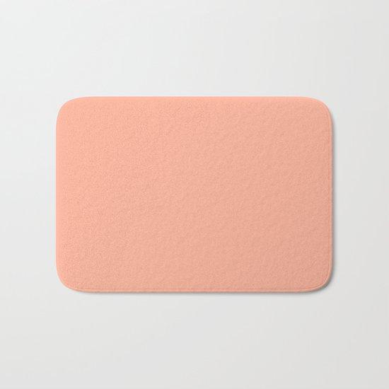 Simply Sweet Peach Coral Bath Mat