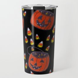 Candy Corn Mayhem Travel Mug