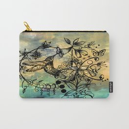 Abstract Painting HUMMINGBIRD V Carry-All Pouch