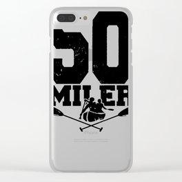 50 Miler Afloat Clear iPhone Case