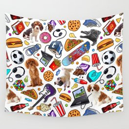teenage explosion 2 Wall Tapestry