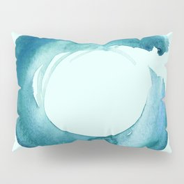 Serenity Enso No. 1 by Kathy Morton Stanion Pillow Sham