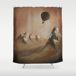 Around the world in 80 days by Jules Verne Shower Curtain