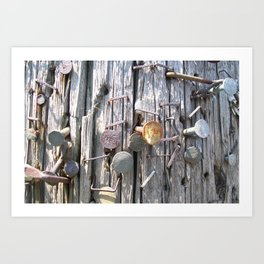 """Thorns"" - Minneapolis, Minnesota  Art Print"