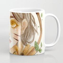 Zodiac sign- Leo Watercolor paint Coffee Mug