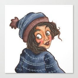 Winter Hat Canvas Print