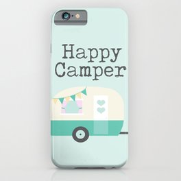 Happy Camper Minty Fresh iPhone Case