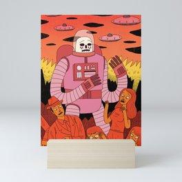 Alien Invader Mini Art Print