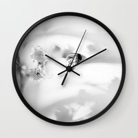 transparent Wall Clocks featuring transparent by Ingrid Beddoes