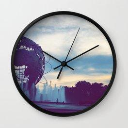 Walking Forward Wall Clock