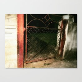 red gate land Canvas Print