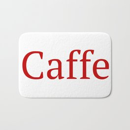 Caffe - Deep Learning Framework Bath Mat