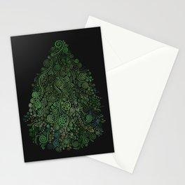 Fantasy Tree Greenery Stationery Cards