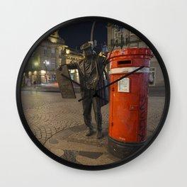 Porto Postie Wall Clock