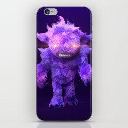 Furry Beast iPhone Skin