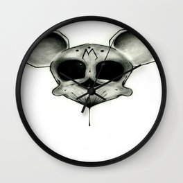 MICKEY DEATH MOUSE Wall Clock