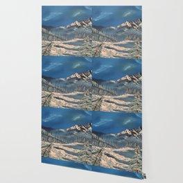 Ice Fields - winter day Wallpaper