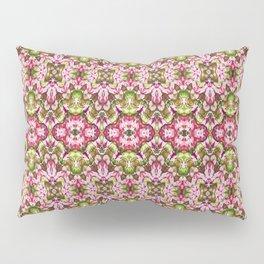 Delicate Floral Stripes Pillow Sham