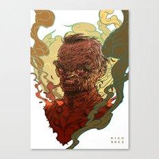 Dead Major Canvas Print