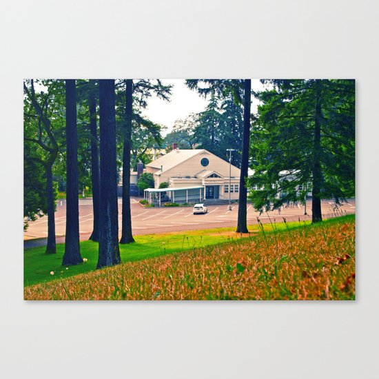 South Park Community Center Canvas Print