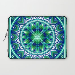 Sacred Places Green Laptop Sleeve